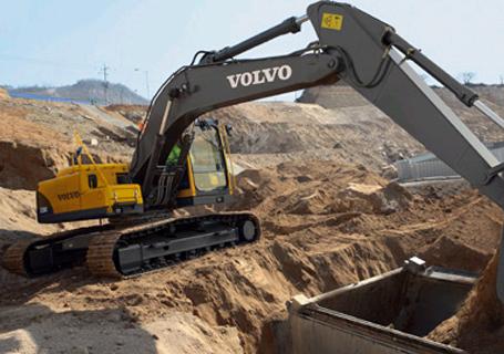 沃尔沃EC200B Prime挖掘机