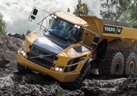 沃尔沃A40F铰接式自卸卡车