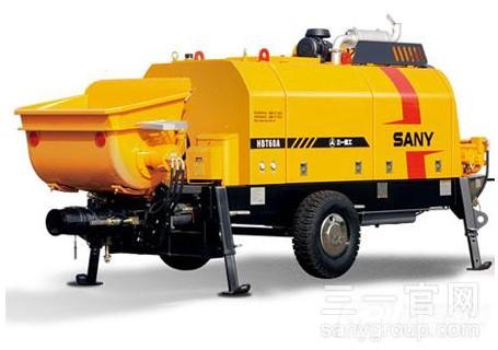 三一HBT6013C-5S柴油机混凝土拖泵