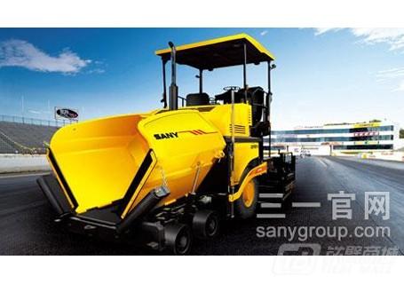 三一SAP100T-5轮式摊铺机