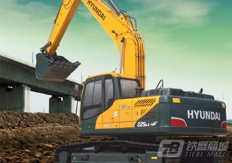 现代R225LC-9V挖掘机口碑