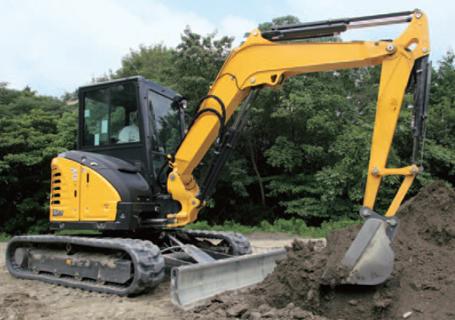 洋马Vio55-6挖掘机