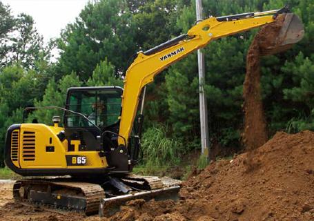 洋马B65挖掘机
