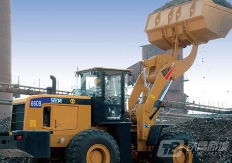 山工SEM660BU型高卸装煤王图片