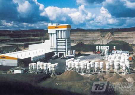 中联重科MTA1000特种干混砂浆生产线