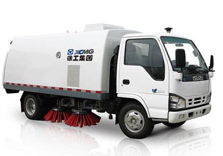 徐工XZJ5060TSLQ4湿扫扫路车