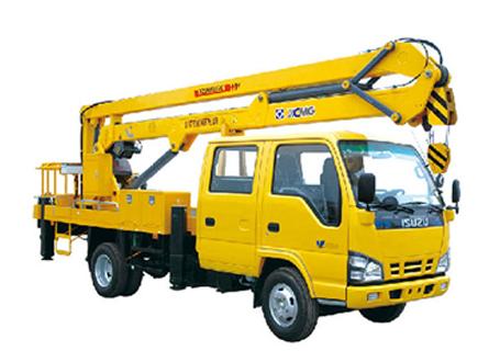 徐工XZJ5062JGKA伸缩臂高空作业车