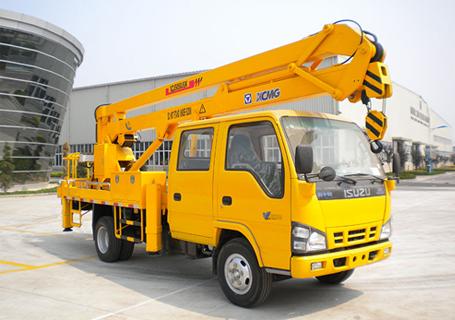 徐工XZJ5050JGK折叠臂高空作业车