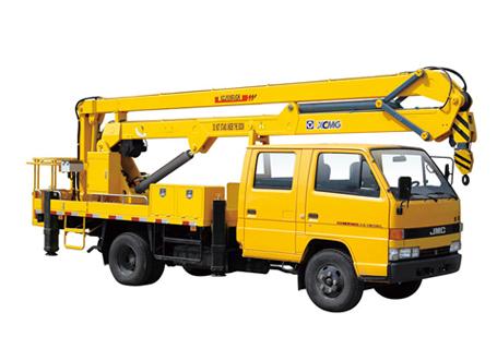 徐工XZJ5060JGK折叠臂高空作业车