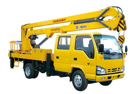 徐工XZJ5063JGK折叠臂高空作业车