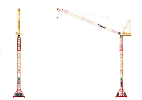 徐工XGTL750Ⅱ动臂式塔式起重机