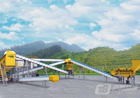 徐工MSE90K工程环保制砂线