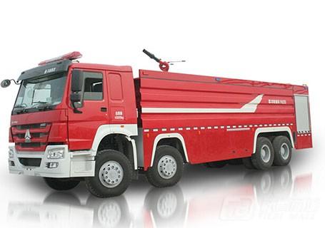 中联重科ZLJ5430GXFPM250泡沫水罐消防车