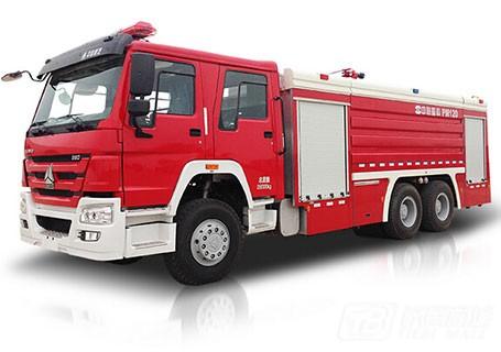 中联重科ZLJ5280GXFPM120泡沫水罐消防车