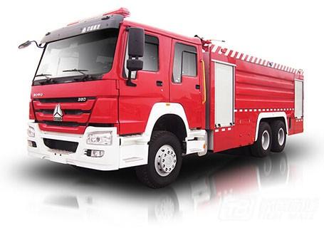 中联重科ZLJ5330GXFPM180泡沫水罐消防车