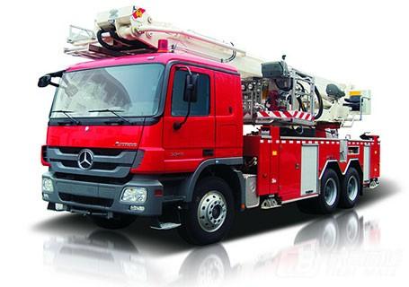 中联重科ZLJ5300JXFDG32登高平台消防车