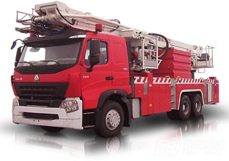 中联重科ZLJ5320JXFDG32登高平台消防车