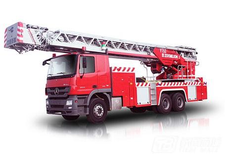 中联重科ZLJ5300JXFYT53多功能云梯消防车