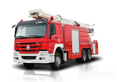 中联重科ZLJ5320JXFJP32举高喷射消防车