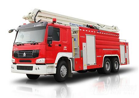 中联重科ZLJ5310JXFJP25举高喷射消防车