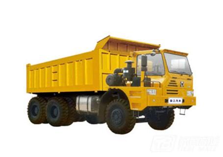 徐工TFH121偏置驾驶室平台6X4矿用自卸车55吨