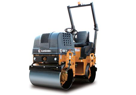 柳工CLG6015手扶双钢轮压路机