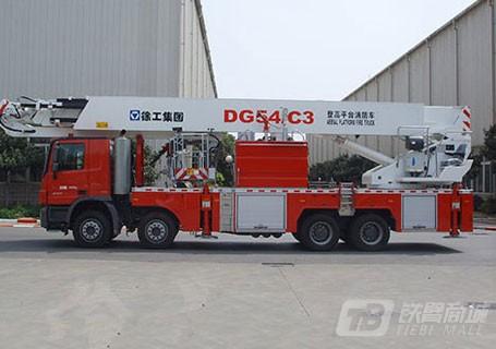 徐工DG54C3登高平台消防车