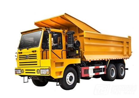 徐工TFW111R偏置驾驶室平台6X6矿用自卸车65吨