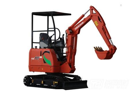 合矿HK18挖掘机图片