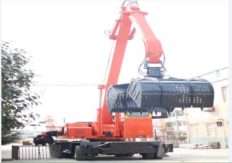 永工YGLSZ400轮式双动力液压抓料机