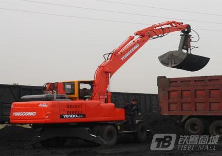 永工YGXL140-7履带式卸煤机