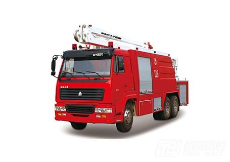 山推JP25举高喷射消防车