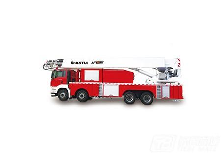 山推JP56举高喷射消防车