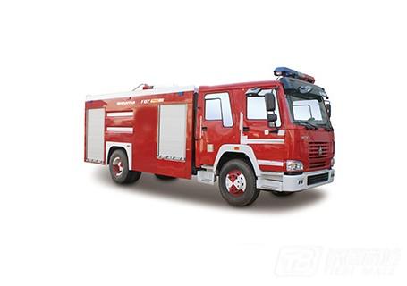 山推SG80/PM80泡沫/水罐消防车