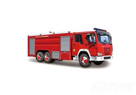 山推SG120/PM120泡沫/水罐消防车