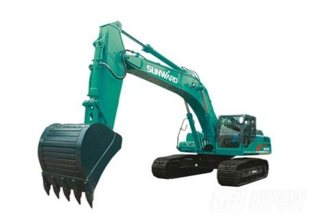 山河智能SWE365E大型挖掘机
