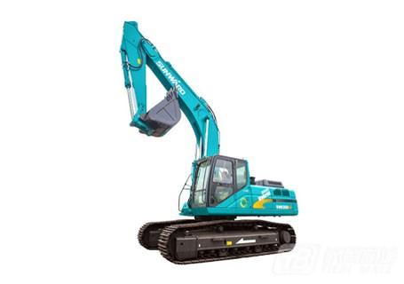 山河智能SWE350ES混合动力挖掘机