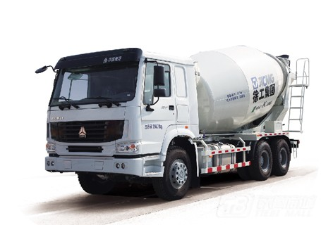 徐工XSC3305重汽豪沃系列三桥混凝土搅拌运输车