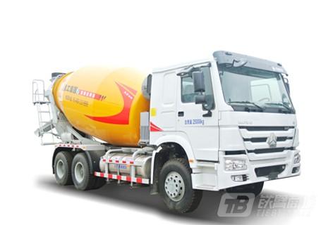 徐工XSL3307重汽天然气系列三桥混凝土搅拌运输车