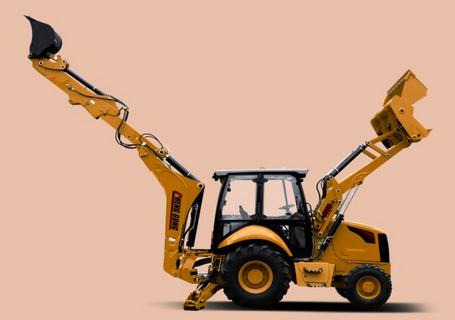成工866HTC挖掘装载机