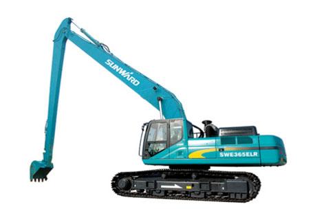 山河智能SWE260ELR加长臂挖掘机