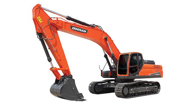 斗山DX340LC-9C挖掘机