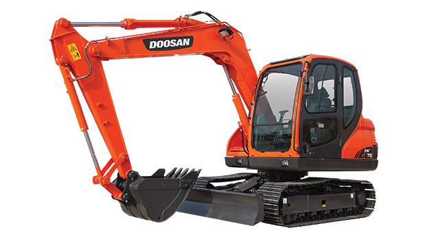 斗山DX75挖掘机