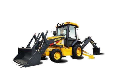 常林公司WZ30-25挖掘装载机