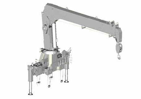 常林公司SQ6.3直臂伸缩式随车起重机