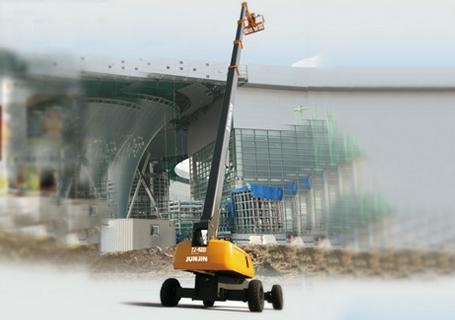 烟台全进TJ-420伸缩式高空作业平台