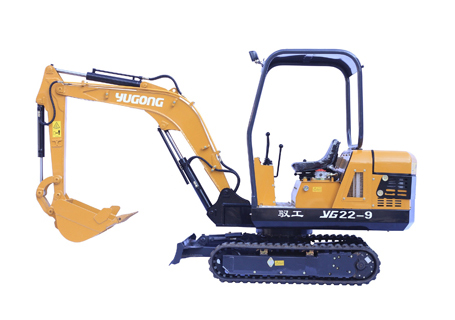 驭工机械YG22-9履带式小型挖掘机