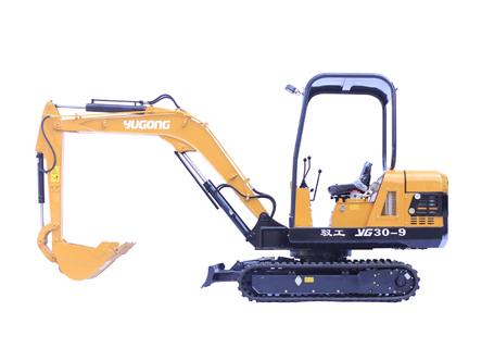 驭工机械YG30-9履带式微型挖掘机
