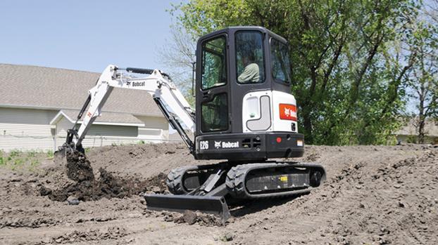 山猫E26迷你挖掘机
