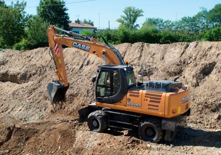 凯斯WX188轮式挖掘机